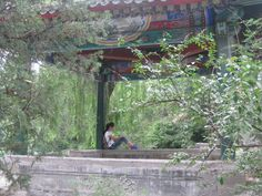 Find your place to relax while studying Photo by SU staff member Daeya Malboeuf. Beijing China, China Travel, Studying, Gazebo, Relax, Outdoor Structures, Places, Kiosk, Pavilion