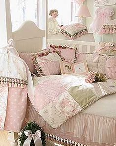 If I ever have a girl - Glenna Jean Isabella Baby Girl Crib Bedding Set