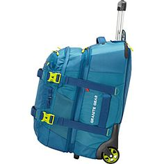 Buy the Granite Gear Cross- Trek Convertible Wheeled Carry-On with Removable Pack at eBags - Carry your gear for a rugged adventure or a casual trip inside this rolling carry-on pack from Grani Carry On Packing, Carry On Size, Backpack With Wheels, Sales And Marketing, Business Travel, Holiday Travel, Granite, Adventure Travel, Trek
