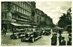 Kaffee König, Berlin - Unter den Linden, Ecke Friedrichstr., 1936.