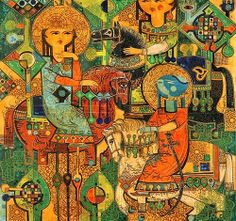 Iranian artist, Sadegh Tabrizi