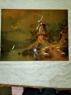 Red Oak Wood, Painting, Art, Art Background, Painting Art, Kunst, Paintings, Performing Arts, Painted Canvas