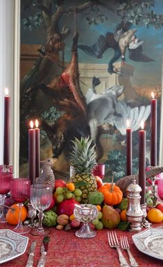 Splendid Sass: THANKSGIVING TABLESCAPES