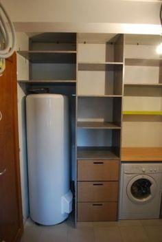Recherche idées aménagement cellier, dressing, placard (13 ...
