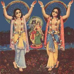 Lord Caitanya and Nityananda, who are Krishna and Balarama only .