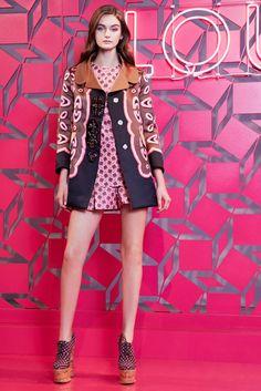 Louis Vuitton Resort 2013 Fashion Show - Andie Arthur