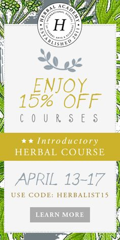 Master Herbalist Home Study Course