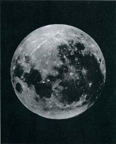 Full Moon Original Vintage Print 1950s by CarambasVintage on Etsy, $16.00