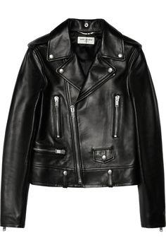 Saint Laurent|Perfecto leather biker jacket|NET-A-PORTER.COM