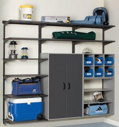 Garage Shelf Storage Systems, Shelf Storage Solutions Virginia | GARAGE CONCEPTS