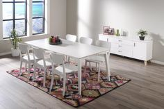 JADE-ruokailuryhmä (pöytä 170x90cm+6 tuolia)