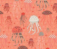 Deceptive Beauty fabric by kayajoy on Spoonflower - custom fabric