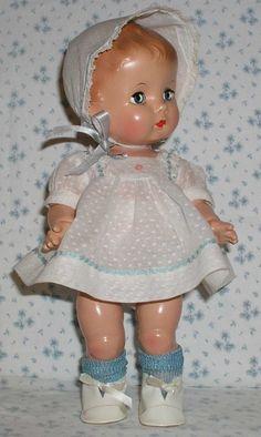 "@Carole Grant-Effenbee 1940's doll 13"" 'Candy Kid'"