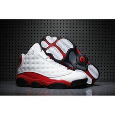 the latest fa19e efd02 2017 Nike Air Jordan 13 Retro Chicago White Black-Team Red