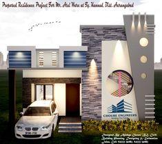 House Balcony Design, House Outer Design, House Arch Design, House Main Gates Design, Single Floor House Design, House Outside Design, House Ceiling Design, Home Building Design, House Design Photos