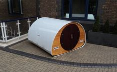 sleep pods | Flat-pack outdoor Double Pod by Podtime
