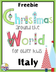 What is there to like when learning a foreign language? Imagine that you are learning the Italian language right at your own living room. Considering the numerous simple methods of learning Italian today, would you rather sit in your Kids Around The World, Holidays Around The World, Around The Worlds, Christmas In Italy, Italian Christmas, How To Speak Italian, Italy For Kids, Special Education Classroom, Classroom Resources