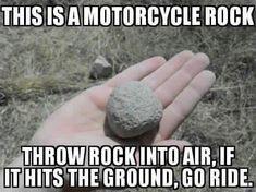 Best Riding/Trike Memes - Let's see 'em! Dirtbike Memes, Motorcycle Memes, Motocross Funny, Motocross Quotes, Ninja Motorcycle, Atv Motocross, Motorcycle Travel, Triumph Motorcycles, Custom Motorcycles