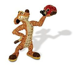 Jeweled The Lion King Figurine by Arribas -- Timon | Disney Store