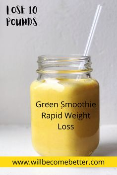 Lose weight and feel great with these Green Smoothie Recipe for Quick Weight Loss. These healthy smoothies taste great and an easy way to eat veggies!#greensmoothie #smoothieforweightlossfatburning