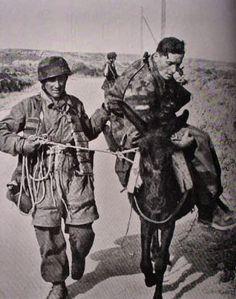 Fallschirmjäger having captured an allied soldier in Crete 1941 Luftwaffe, Paratrooper, Narvik, German Soldier, Ww2 German, German Army, Battle Of Crete, Army History, German Uniforms