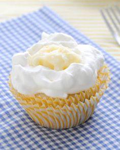Lemon Blueberry Cupcakes with Egg-free Meyer Lemon Curd