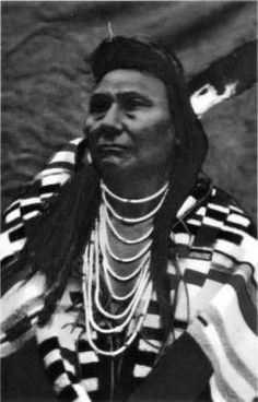 Hinmatoyalatq'it (aka Thunder Coming Over The Mountain, aka Chief Joseph) - Nez Perce - before 1904