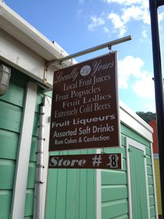 Places to visit while in Tortola.  Webs sites don't provide any of these pictures.  This is what I've been searching for!               Best popsicles on Tortola!  #bvi