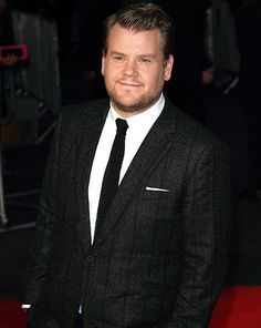 James Corden |  soon to be new host of CBS' The Late Late Show {Sept. 2014}