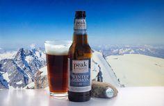 Winter Session Ale (Peak Organic Brewing Co - USA) - Calendrier de l'avent Saveur-Biere.com #BeeryChristmas - Sommet (peak) enneigé