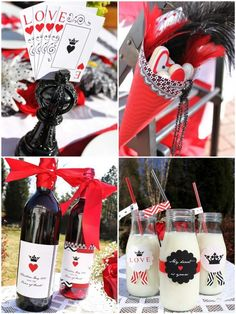 Queen of Hearts Valentine Printable Party by FrogPrincePaperie, $11.50