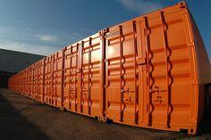 Orange Storage Containers En Masse