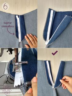 Pants Tutorial, Zipper Tutorial, Sewing Shorts, Sewing Case, Sewing Clothes Women, Design Blog, Dope Fashion, Pants Pattern, Sewing Techniques