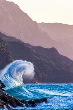 The Rise of Ke'e - Kauai - Hawaii - USA