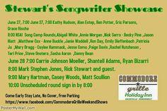 SoundOff: #Nashville #NashvilleMusic shared4 Commodore Grille Nashville & Rick and Tammy Stewart Shows@ The Commodore Grille June 27 June 28 7 pm