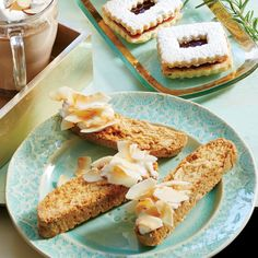 Coconut-Almond Biscotti - Tempting Holiday Cookie & Bar Recipes - Coastal Living