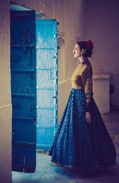 Model- Collena Shakti, Styling/Garment- Dhruv Singh, Photography- Devansh