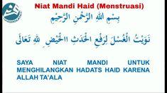 (EditRTD) Niat Mandi Haid (Menstruasi). Muslim Quotes, Islamic Quotes, Islam Facts, Doa, Prayers, Dessert Recipes, Content, Learning, Studying