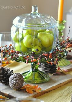 Craft-O-Maniac: A Warm and Rich Thanksgiving Tablescape
