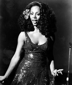 Donna Summer in Thank God Its Friday, 1978.