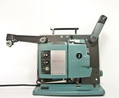 Vintage Bell and Howell 16mm Film Projector With Sound, Bell and Howell 552 Specialist with Filmosound and Autoload