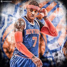 Melo. 🏀🗽 #Knicks #KnicksNation #SportsPosters