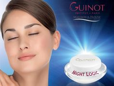 Guinot's Night Logic Cream is a new night cream that plays an essential role in the beauty and quality of the skin, which mostly regenerates during your sleep.  A regular application is key to boost this nocturnal cellular activity.  Scientific Results:  *Changes in firmness +40.3%  *Changes in elasticity +30.7%  *Changes in rough skin patches -38.0%  *Increase in radiance +1.4 points