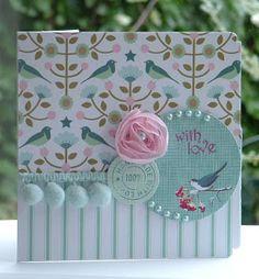 Card - Tilda Papers and die cuts - Tilda paper design - Tilda papercraft cards #tilda #tildacard