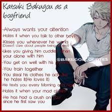 katsuki bakugou as a boyfriend - Google Search | My hero