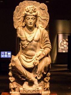 パキスタン・ガンダーラ クシャーン朝・2世紀 国立博物館東洋館 Gandhara