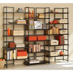 Modular shelving system  Tag Connections Wall Bookcase