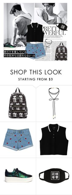 """Jong Suk."" by rocio-kim ❤ liked on Polyvore featuring Marc Jacobs, Miss Selfridge, Monki and Ash"