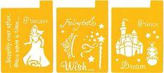 """Fairy tales  Picture of Stencil Mania Stencils 7""""X10"""" 3/Pkg"""