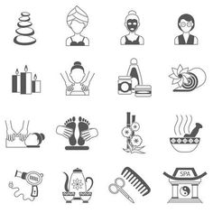 Portfolio Web, Logos Retro, Banner, Spa, Social Icons, Website Layout, Marketing And Advertising, Clipart, Doodle Art